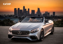 2019 Mercedes-Benz AMG S 63 Convertible 3 Quarter View