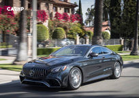 2019 Mercedes-Benz AMG S 63 Coupe 3 Quarter View