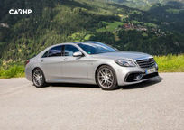 2019 Mercedes-Benz AMG S 63 Right Side View