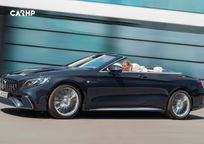 2019 Mercedes-Benz AMG S 65 Convertible Left Side View