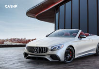 2019 Mercedes-Benz AMG S 65 Convertible 3 Quarter View