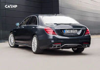 2019 Mercedes-Benz AMG S 65 Coupe Rear 3 Quarter View