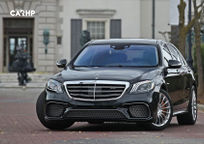 2019 Mercedes-Benz AMG S 65 Front View
