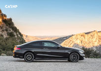 2019 Mercedes-Benz C-Class Coupe Right Side View