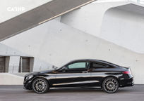 2019 Mercedes-Benz C-Class Coupe Left Side View