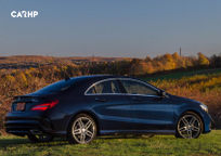2020 Mercedes-Benz CLA-Class Right Side View