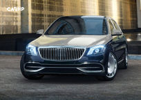 2019 Mercedes-Benz Maybach's exterior image