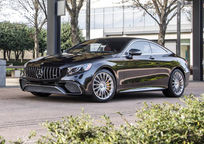 2019 Mercedes-Benz S-Class Coupe 3 Quarter View