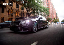 2019 Mercedes-Benz S-Class Front View