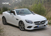 2019 Mercedes-Benz SLC-Class 3 Quarter View