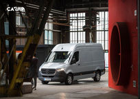 2019 Mercedes-Benz Sprinter diesel 3 Quarter View