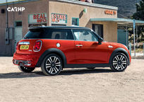 2019 Mini Hardtop 2 Door Rear 3 Quarter View