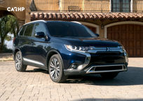 2019 Mitsubishi Outlander 3 Quarter View