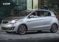 2019 Mitsubishi Mirage Left Side View