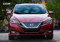 2019 Nissan Leaf electric Front View