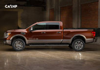 2020 Nissan Titan XD Left Side View