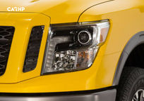 2020 Nissan Titan XD Front Head Lights