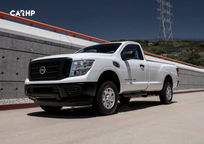 2019 Nissan Titan XD Single Cab 3 Quarter View