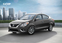 2019 Nissan Versa 3 Quarter View