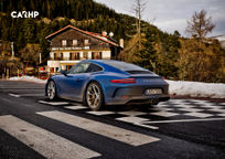 2019 Porsche 911 Carrera T Rear 3 Quarter View
