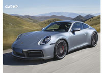 2019 Porsche 911 Carrera T 3 Quarter View