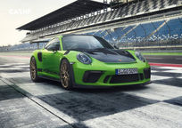 2019 Porsche 911 GT3 RS Coupe 3 Quarter View
