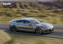 2019 Porsche Panamera Turbo S E-Hybrid Right Side View