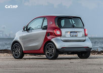 2020 Smart EQ ForTwo electric Rear 3 Quarter View