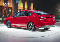 2020 Subaru Impreza Rear 3 Quarter View