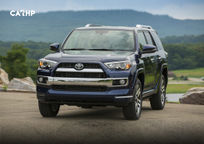 2019 Toyota 4Runner Front View