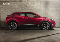 2019 Toyota C-HR Right Side View