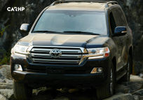 2020 Toyota Land Cruiser Front View