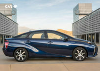 2019 Toyota Mirai electric Right Side View