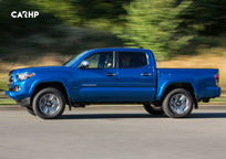 2019 Toyota Tacoma Left Side View