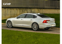 2019 Volvo S90 Rear 3 Quarter View