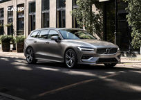 2019 Volvo V60 3 Quarter View