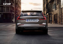 2019 Volvo V60 Rear View