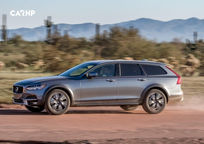 2019 Volvo V90 Cross Country Wagon Left Side View
