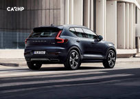 2020 Volvo XC40 Rear 3 Quarter View