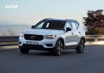 2020 Volvo XC40 3 Quarter View