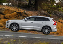 2019 Volvo XC60 plug-in hybrid SUV Left Side View