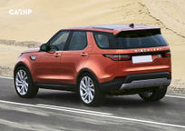 2020 Land Rover Discovery Rear 3 Quarter View