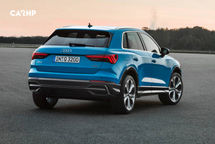 2020 Audi Q3 Rear 3 Quarter View