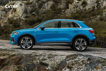 2020 Audi Q3 Left Side View