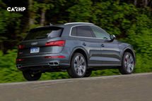 2020 Audi SQ5 Rear 3 Quarter View