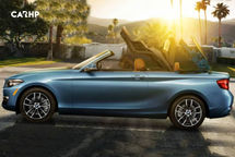 2020 BMW 2 Series Convertible Left Side View