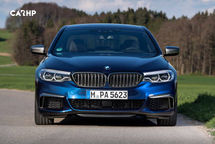 2020 BMW M550i Front View