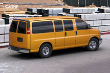 2020 Chevrolet Express Passenger Right Side View