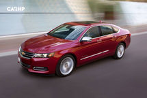 2020 Chevrolet Impala 3 Quarter View