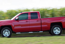 2020 Chevrolet Silverado 1500 LD Left Side View